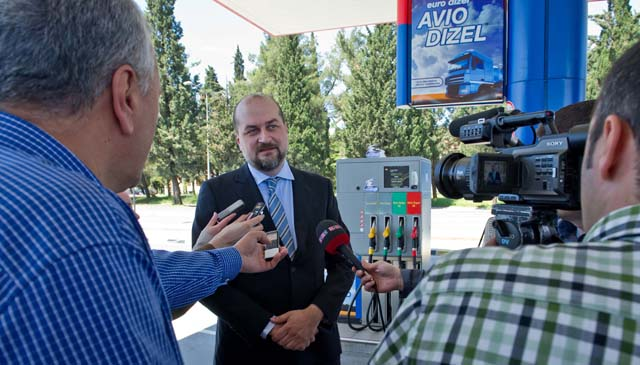 Vuk Radovic, komercijalni direktor Jugopetrol Kotor